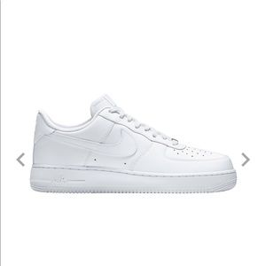 Brand new Nike Air Force Ones.